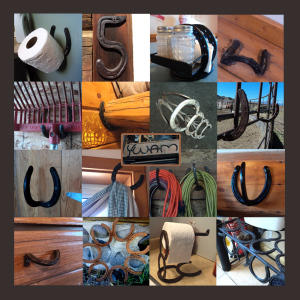 horseshoe collage